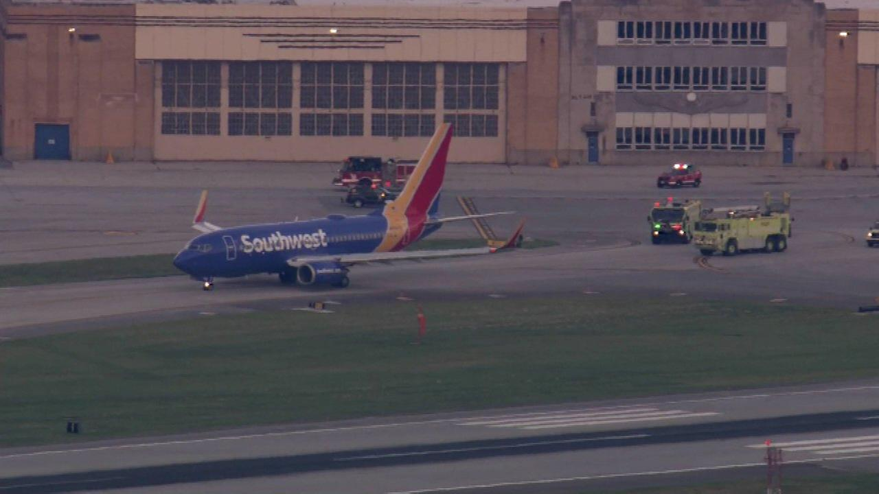 Southwest flight makes emergency landing at Midway