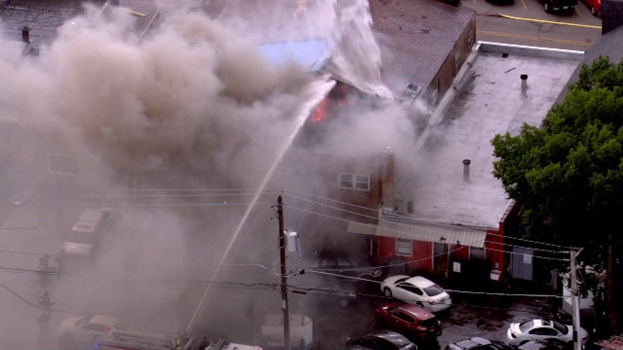 Fire at mixed commercial-residential building in Round Lake