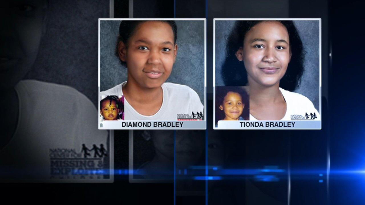 New age-progression photos released of Bradley sisters, missing 16 years