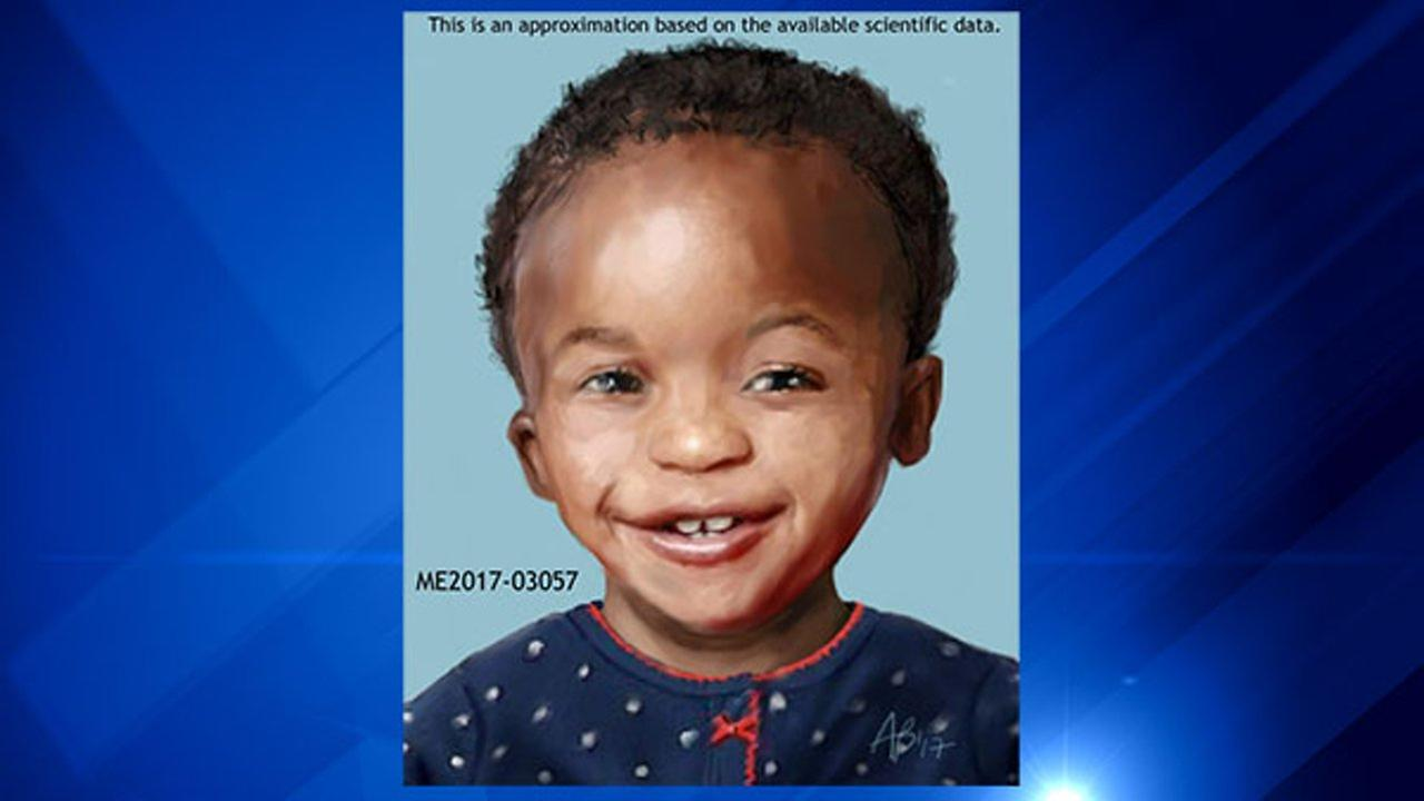 Medical examiner releases sketch of toddler found dead in Markham house fire