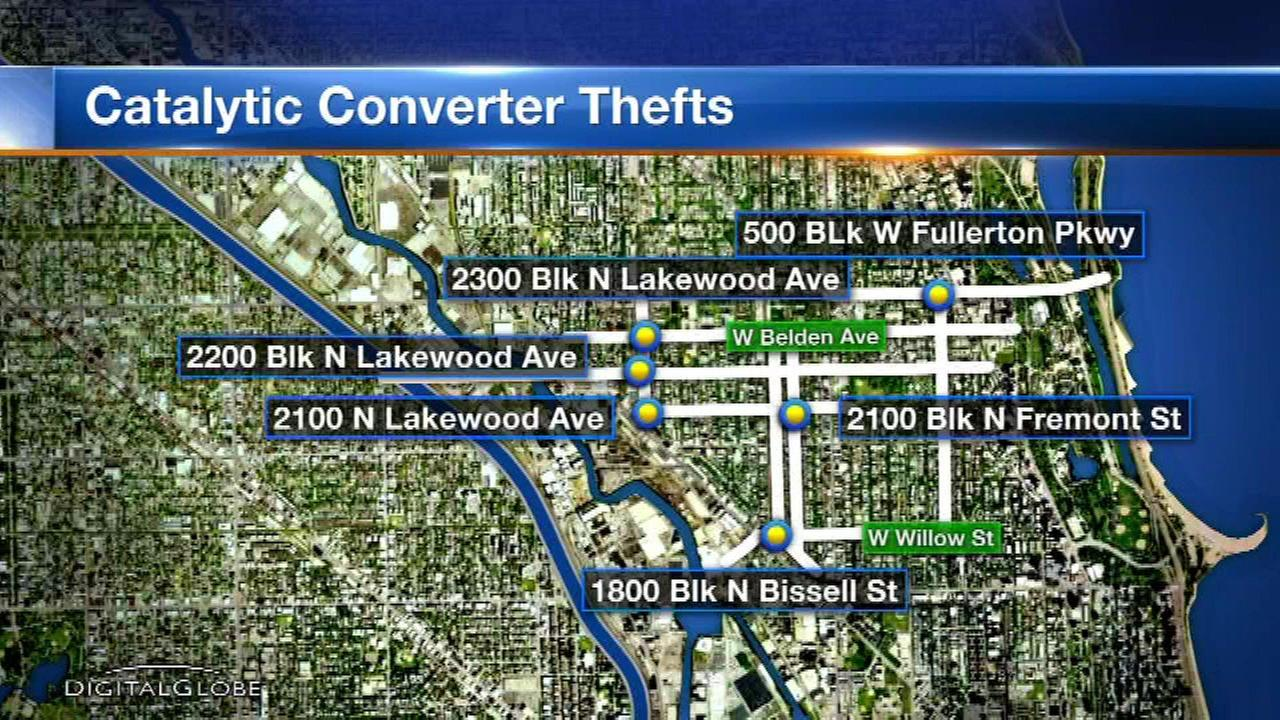 Safety alert issued after catalytic converters stolen from vehicles