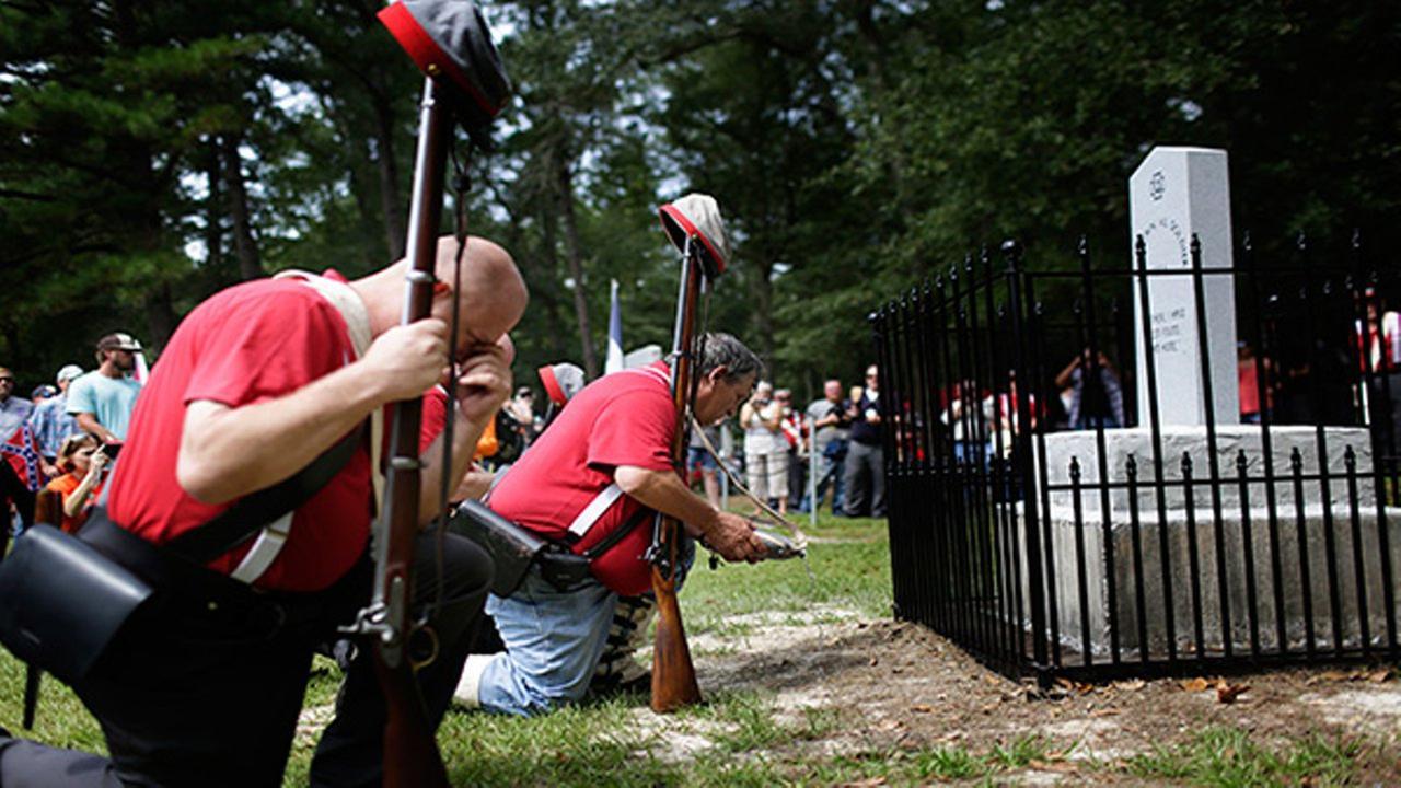 New Confederate monument erected in Alabama