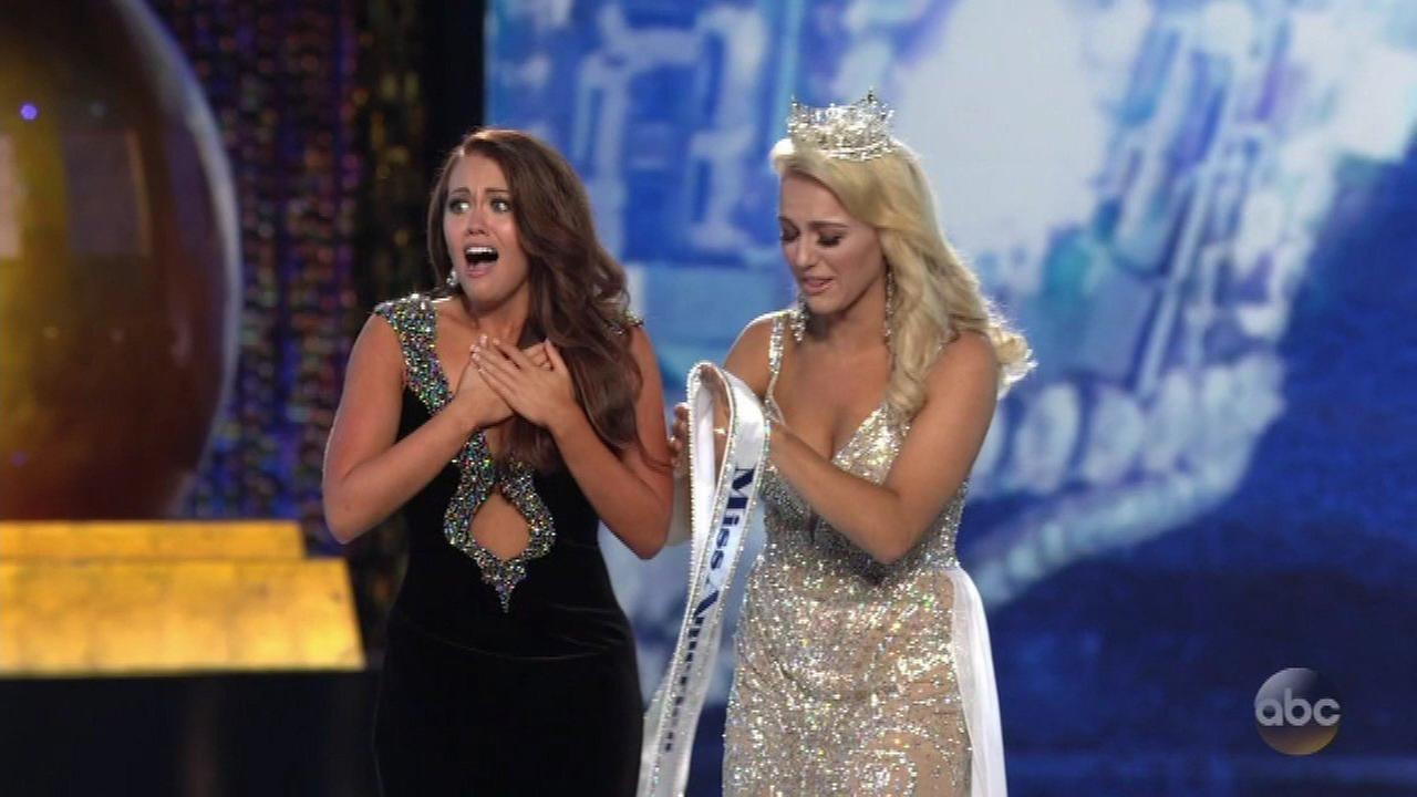 Miss North Dakota crowned new Miss America