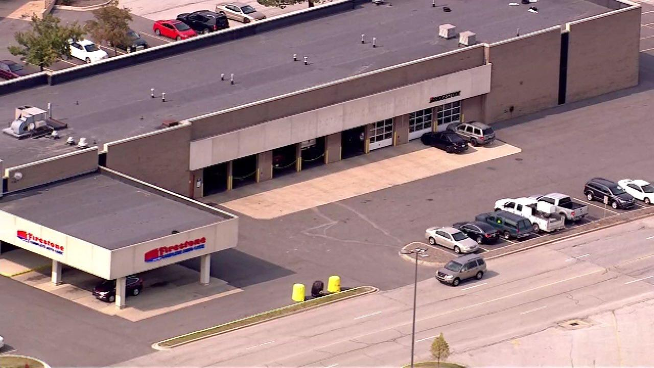 Police are investigating a shooting near the Southlake Mall in Hobart, Indiana.