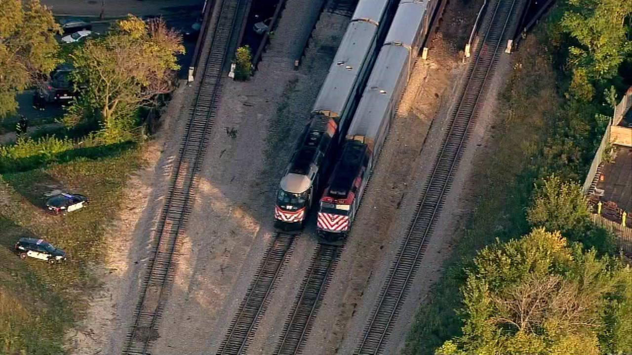 Metra Milwaukee West line trains halted near Western after pedestrian struck