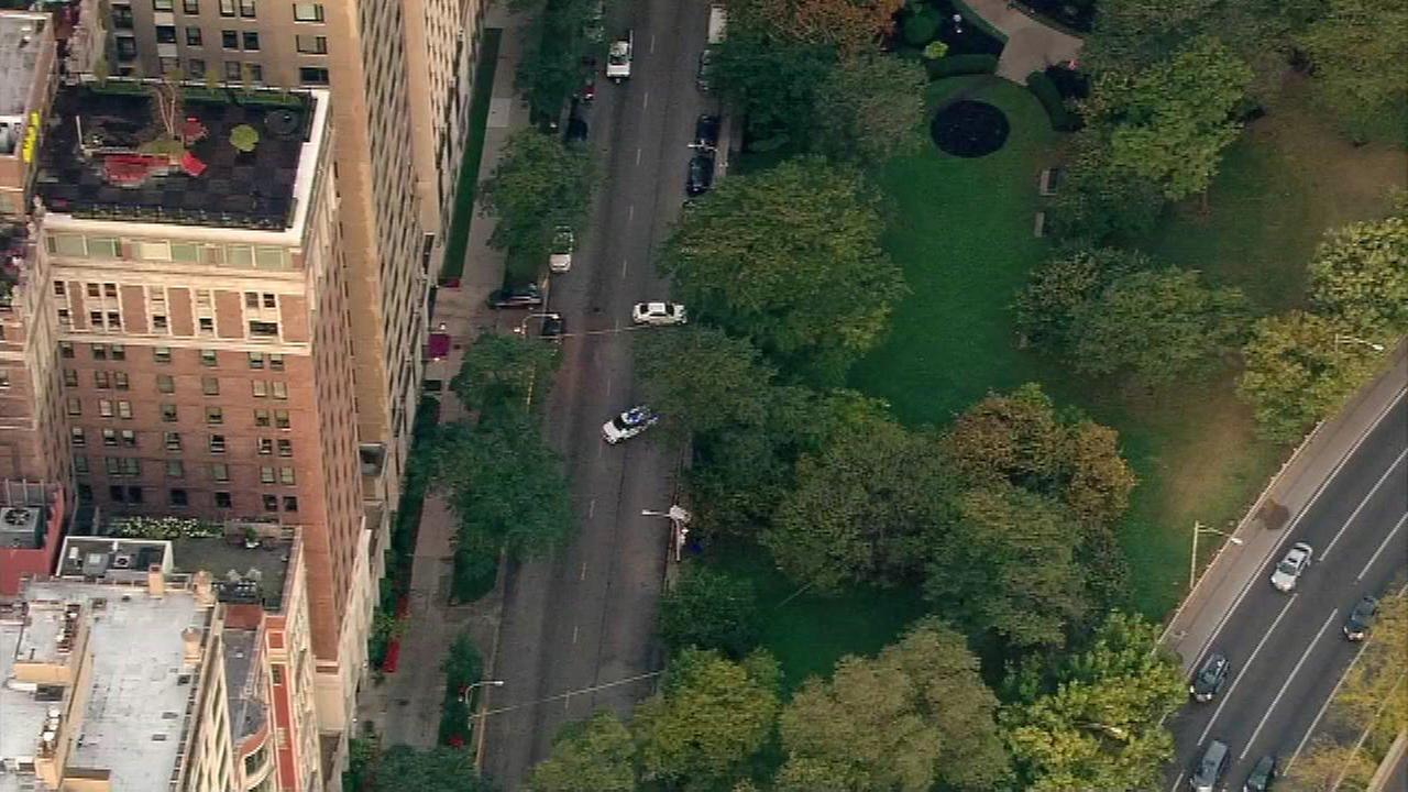 Man found unresponsive on Lake Shore Drive, across from Drake Hotel