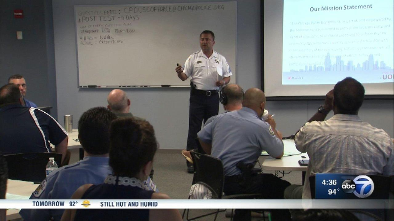 CPD launches new training regimen for updated use of force policy