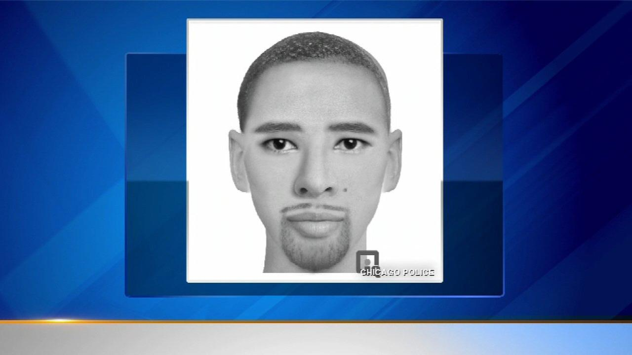 Chicago police released the sketch of a suspect who they say kidnapped and sexually assaulted a 27-year-old woman on the citys South Side last month.