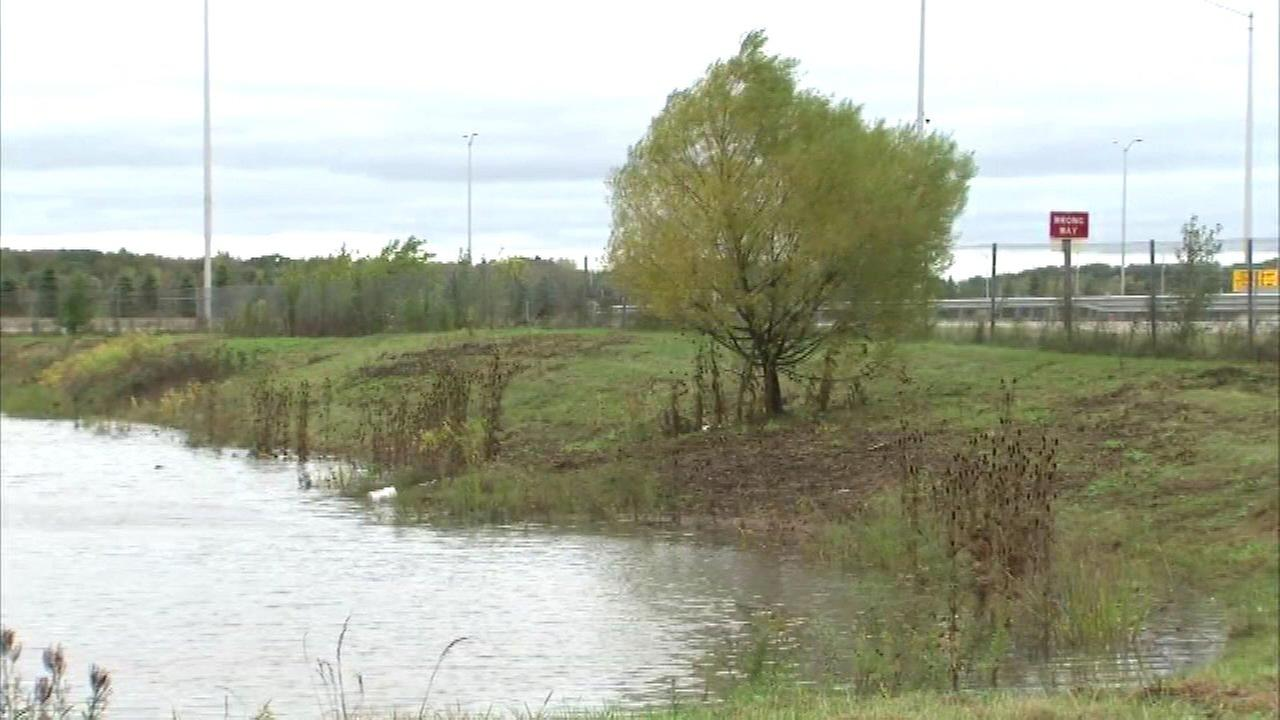 A 6-year-old boy was critically injured after an SUV plunged into a retention pond in Aurora Saturday.