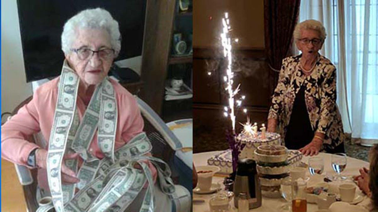 Louise Schaaf celebrated her 111th birthday surrounded by friends and family at Colettis on Chicagos Northwest Side Sunday.