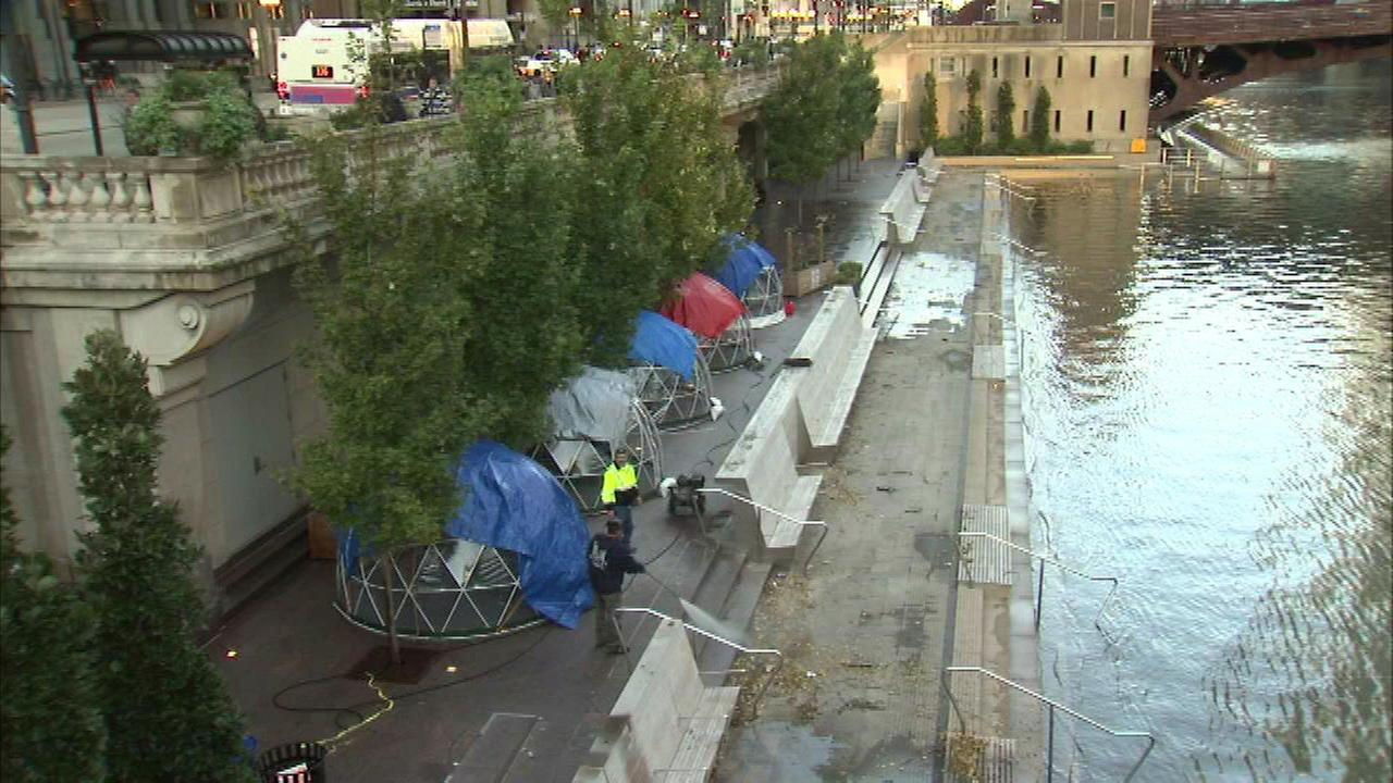 Chicago Riverwalk to reopen Wednesday after weekend flooding