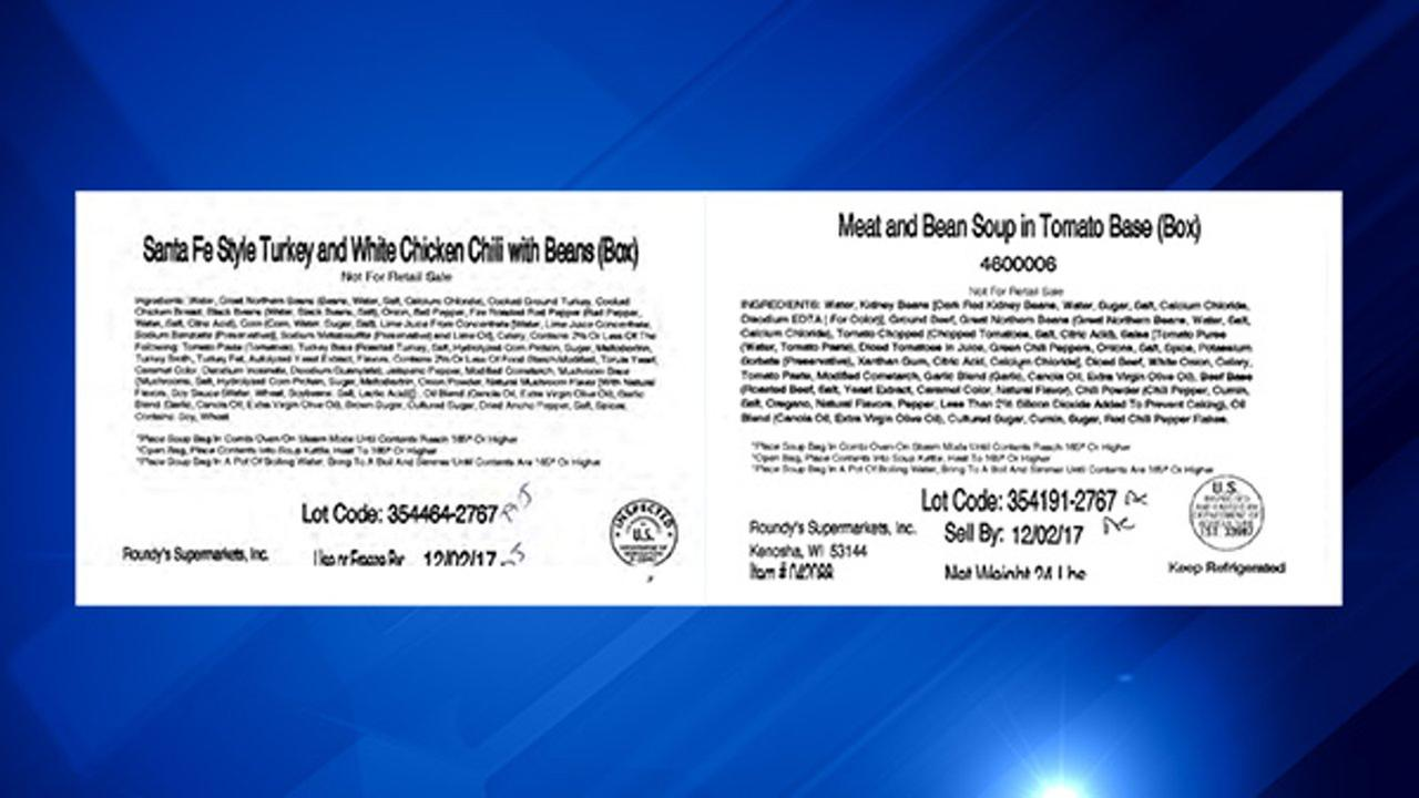 Roundys recalls chili, soup products due to possible contamination