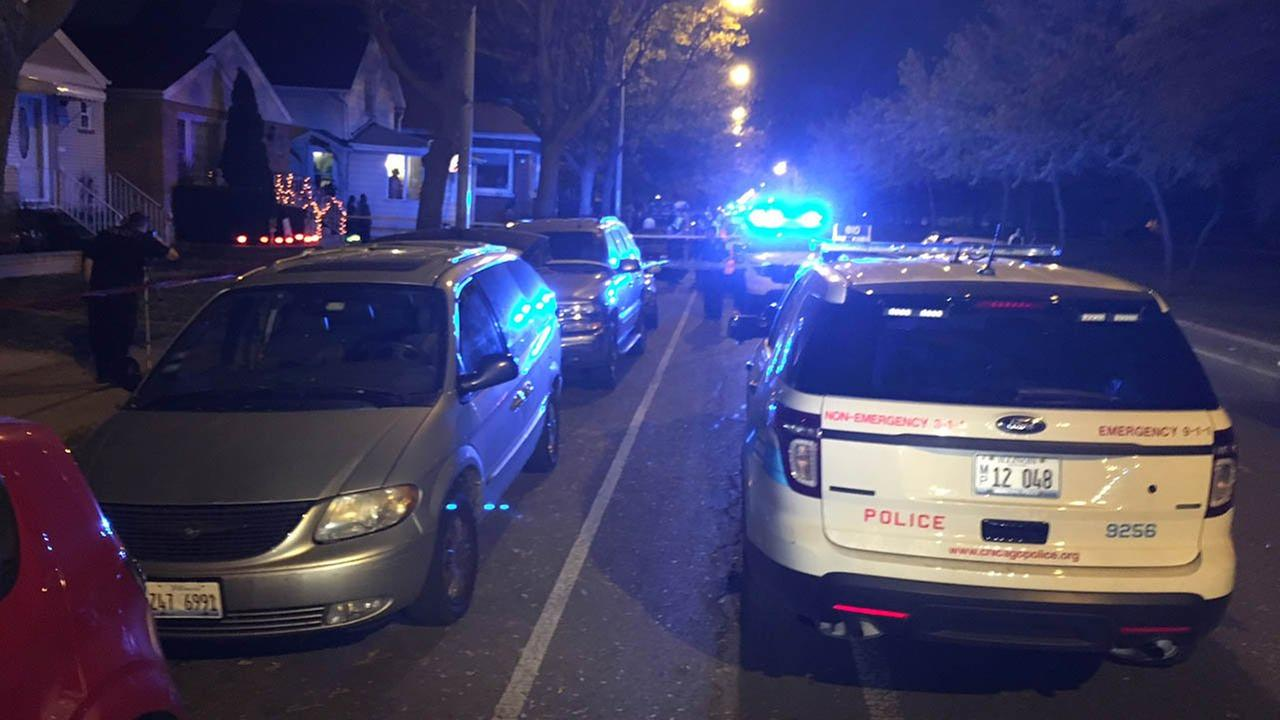 Three people were stabbed Saturday in the 3300-block of West Marquette Road.