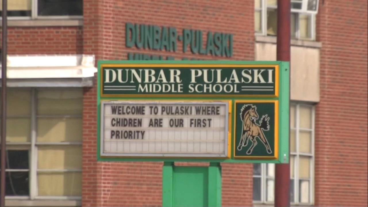 Parents are invited to meet the new administration at The Gary Middle School, formerly the Dunbar-Pulaski School pictured here, today between 9 a.m. and 4 p.m.