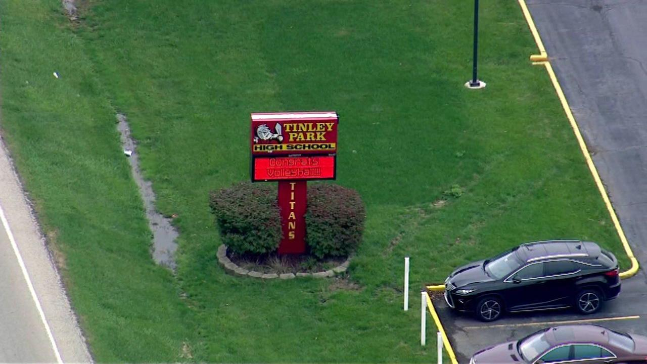 Lockdown lifted at Tinley Park High School after threat