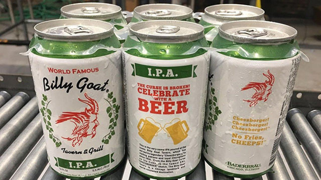 Billy Goat Tavern IPA on sale at select Jewel Osco stores