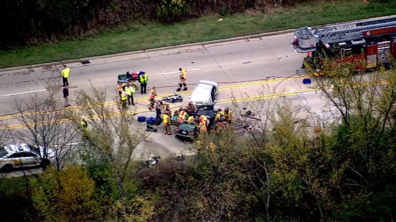 Chopper 7-HD was over the scene of the accident Friday afternoon near Sutton Road and Magnolia Lane.