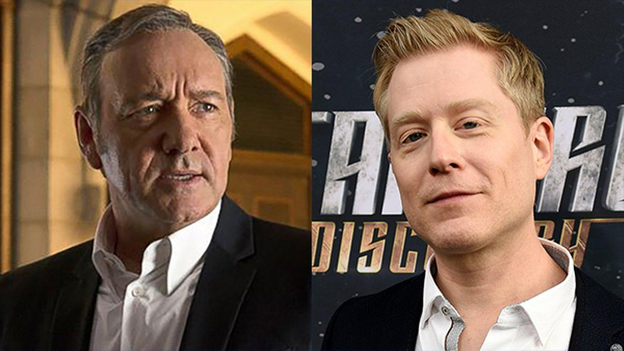Kevin Spacey, left, and Anthony Rapp.