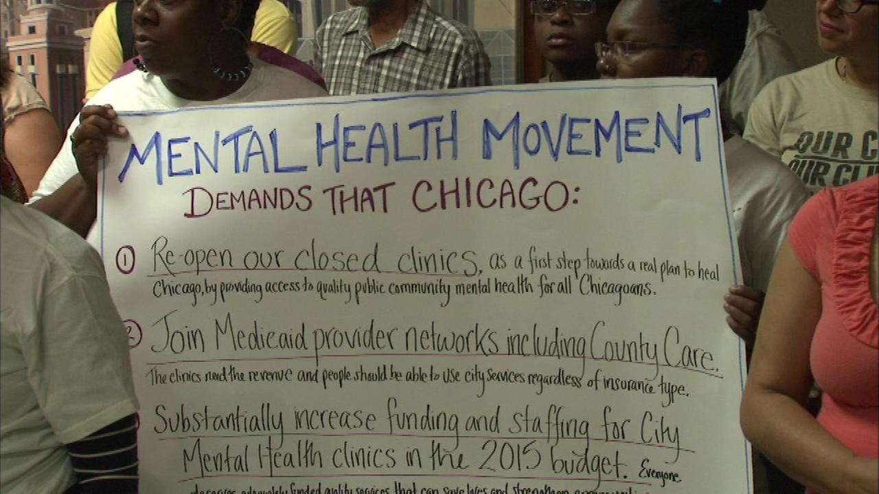 City Council Holds Hearing On Mental Health Clinic Closures