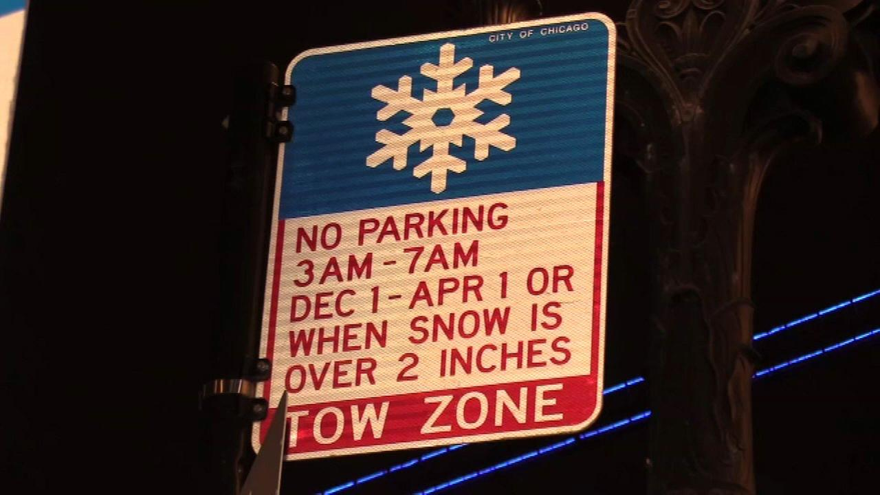 Chicago winter overnight parking ban begins Friday