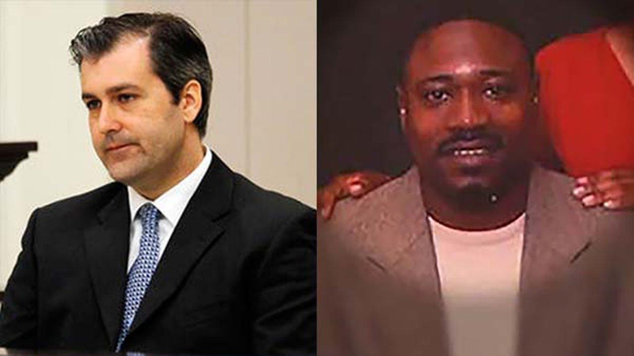 Former North Charleston police officer Michael Slager (left) and Walter Scott, the man gunned down by Slager on April 4, 2015.