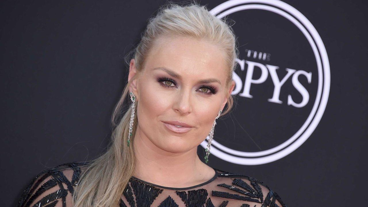 Lindsey Vonn arrives at the ESPYS at the Microsoft Theater on Wednesday, July 12, 2017, in Los Angeles. (Photo by Jordan Strauss/Invision/AP)