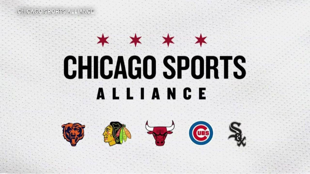 Chicago sports teams donate $1M to reduce gun violence