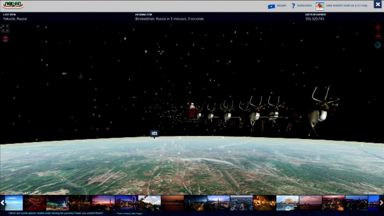 Santa Tracker.