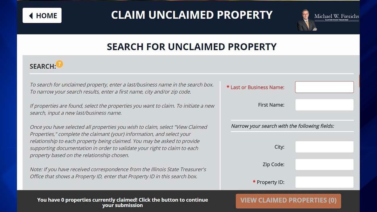 New system makes claiming cash, property easier