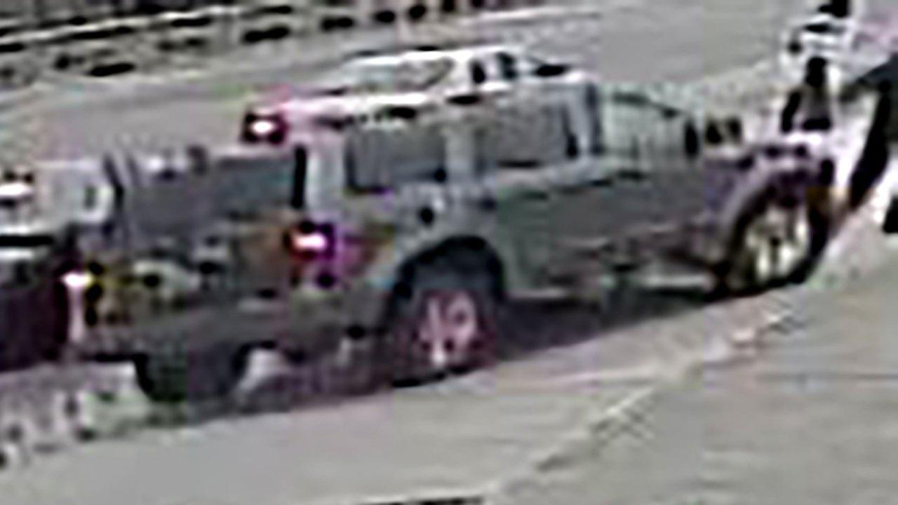 A gray SUV wanted in connection with a hit-and-run on the West Side Friday.