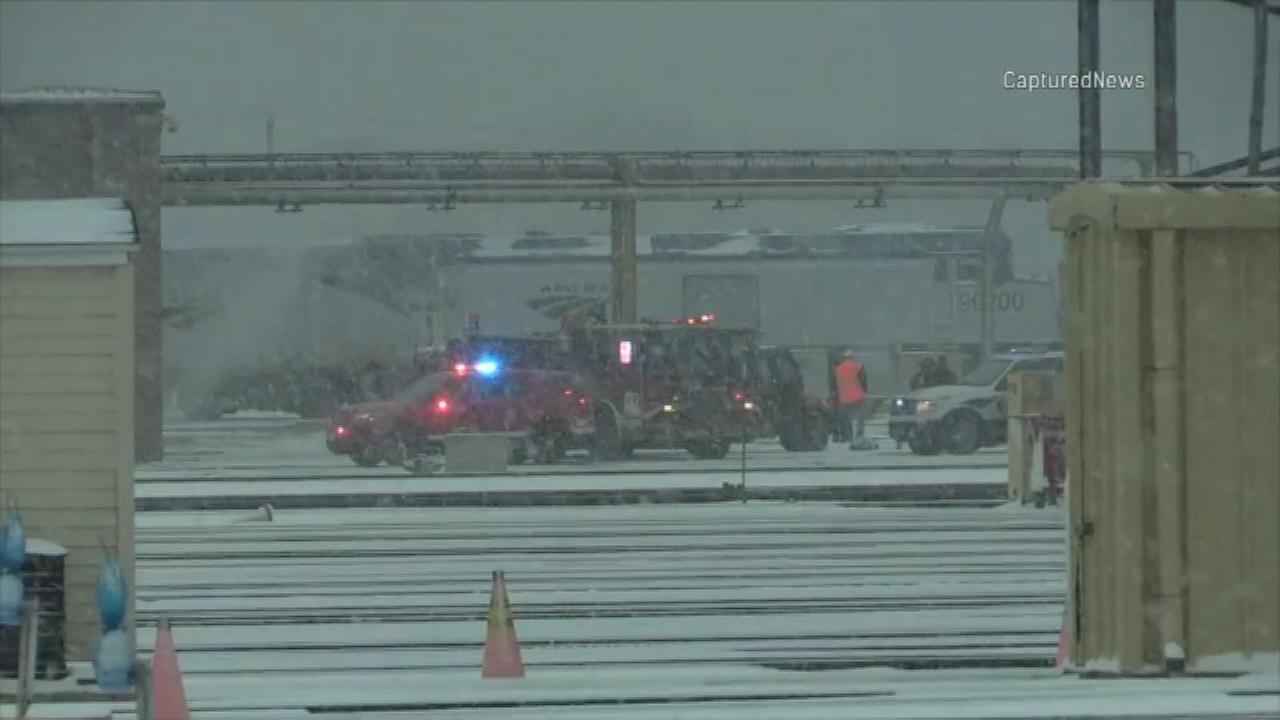 Amtrak worker killed at South Loop facility