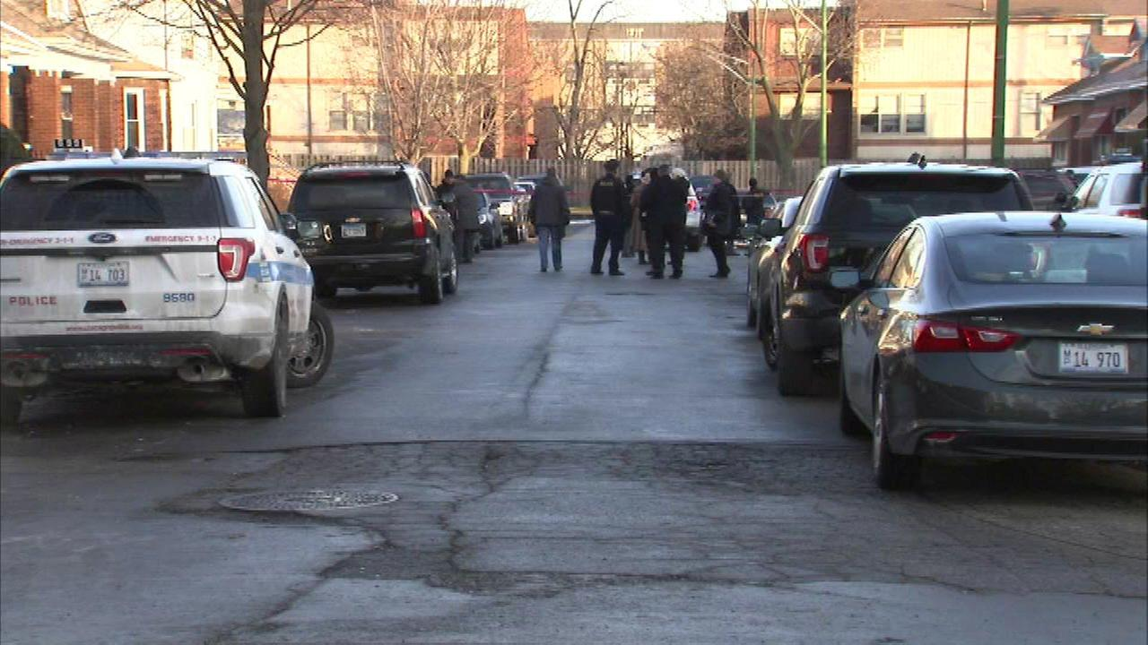 Chicago police shoot man during domestic incident