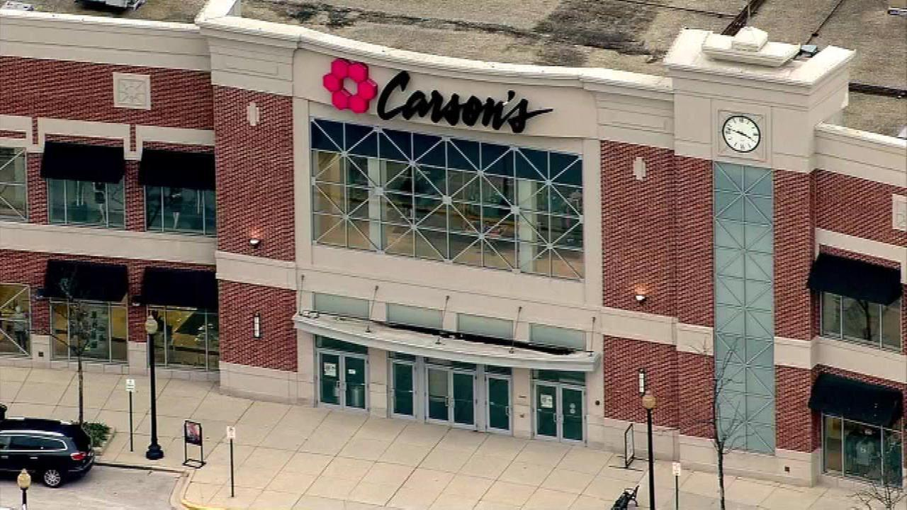 4 Chicago area Carson's stores closing, clearance sales begin Thursday