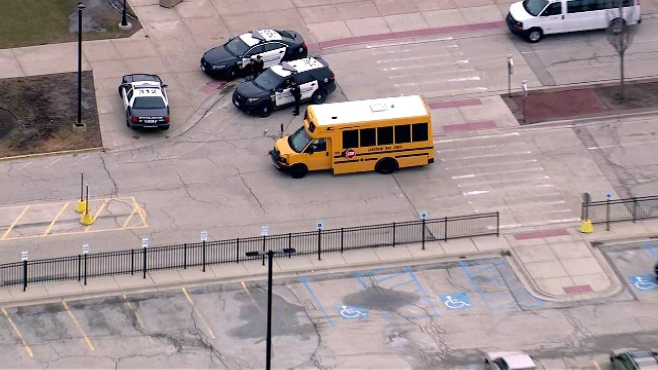 Niles North HS evacuated after threat