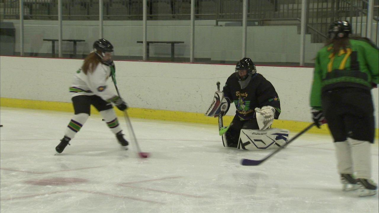 Local women's hockey team inspired by Olympics win