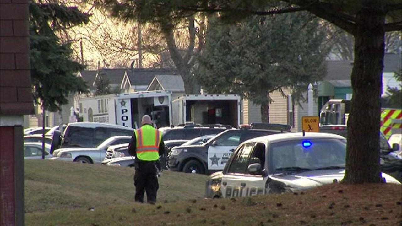 Police responded to reports of an armed offender barging into a home in Sauk Village Saturday.