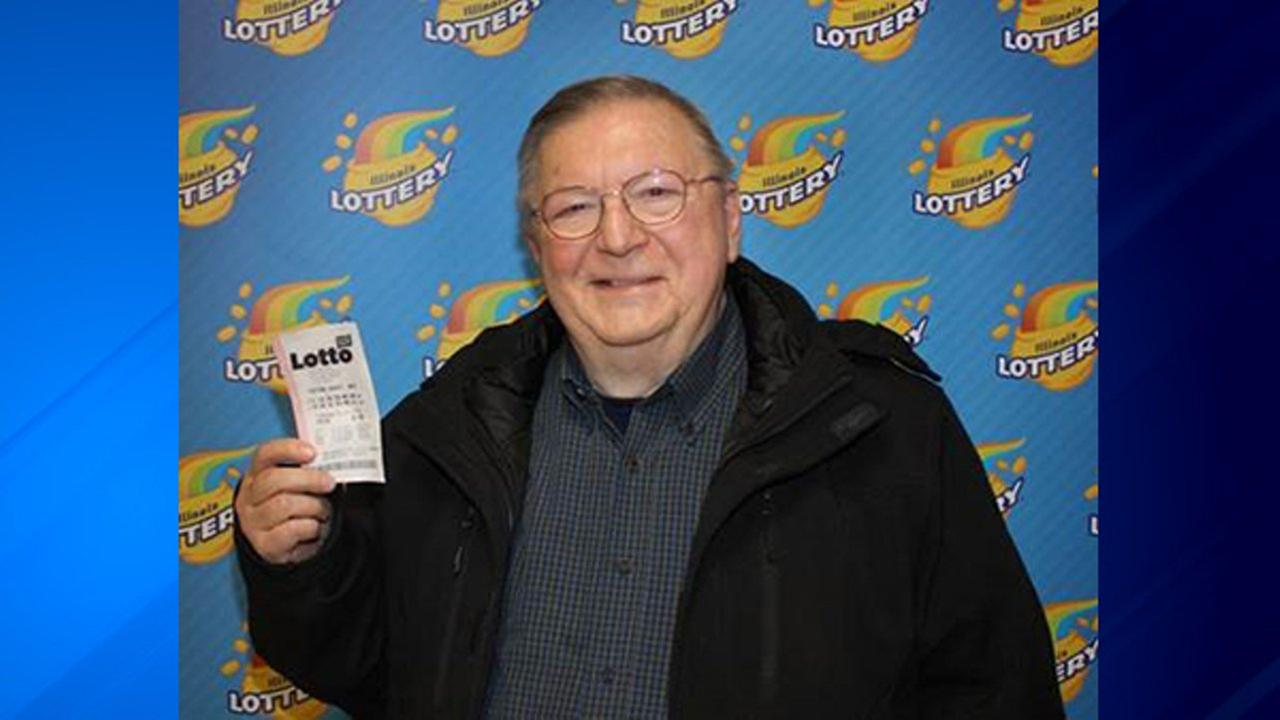 Charles Vincent won $4.25 million when he matched all six numbers in the Lotto Quick Pick drawing on January 22.