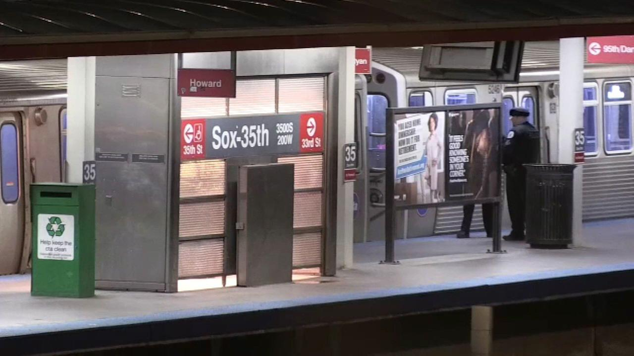 Teen critically hurt by sticking head out of moving Red Line train, hitting pole