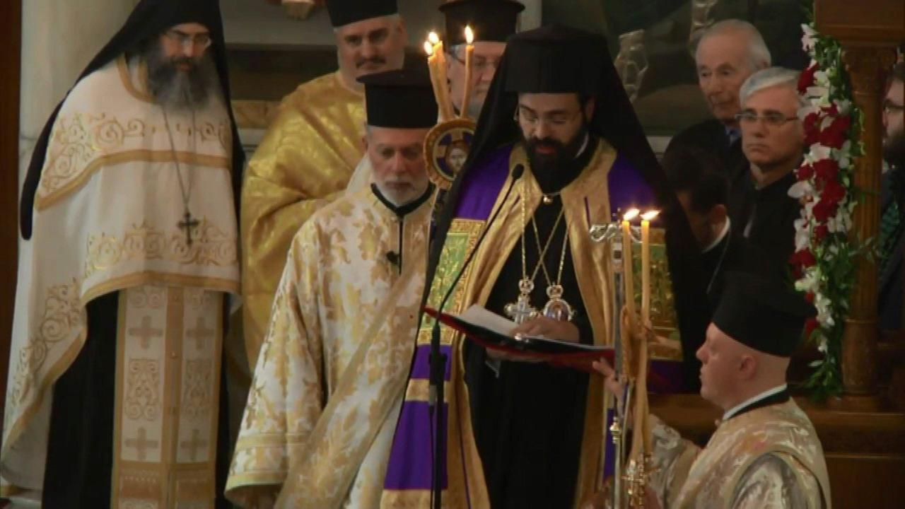 Metropolitan Nathanael was enthroned at Annunciation Greek Orthodox Cathedral Saturday.