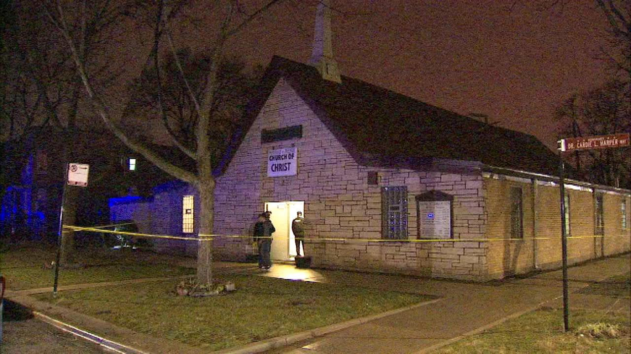 Man charged after shootout with security guard at West Garfield Park church