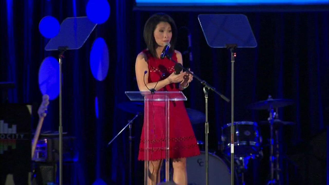 ABC7 Chicagos Judy Hsu emceed the annual DuPage Childrens Museum benefit ball Saturday.