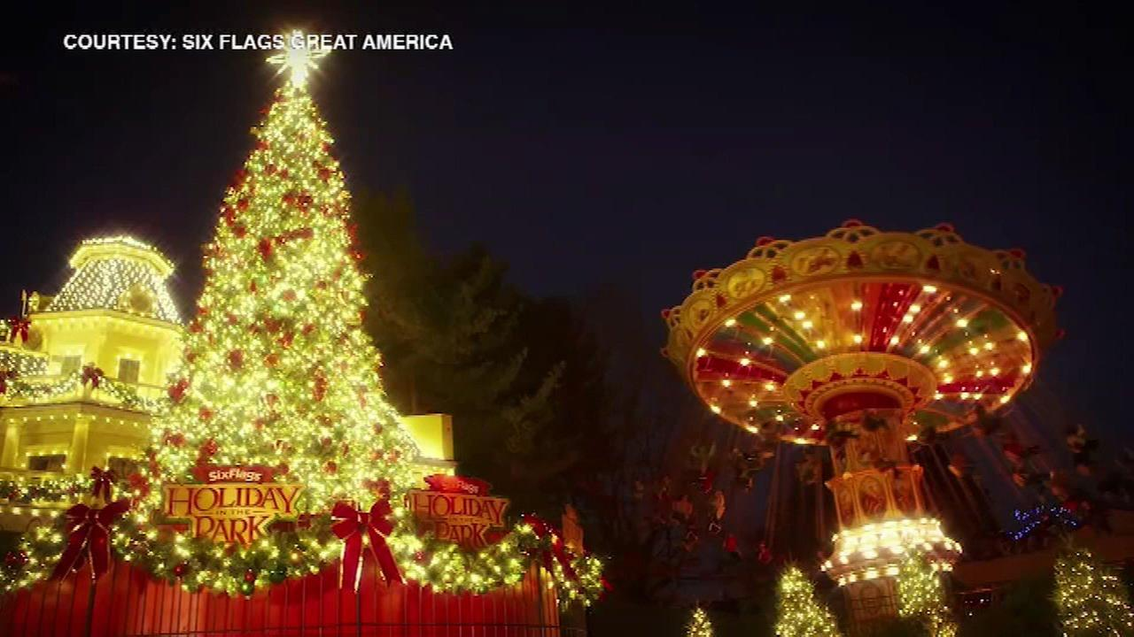 Six Flags Great America in Gurnee to hold holiday festival, stay open through end of year