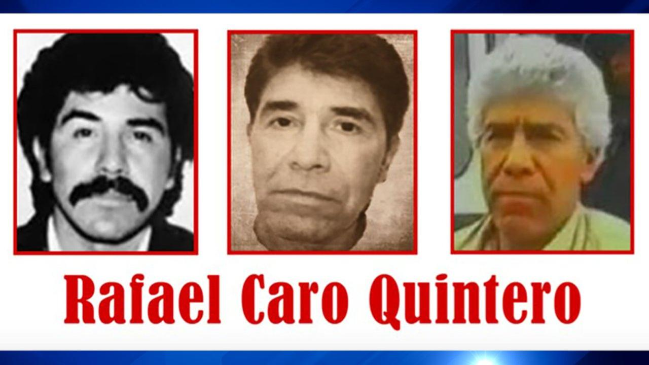 The narco of narcos Rafael Caro Quintero now on Top 10 Most Wanted list