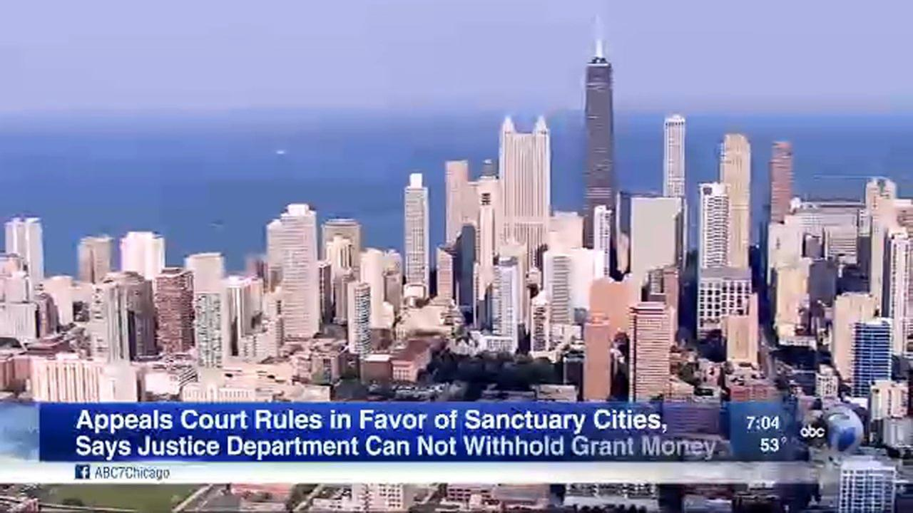 The Seventh Circuit Court of Appeals ruled Thursday that federal grants cannot be withheld from sanctuary cities.