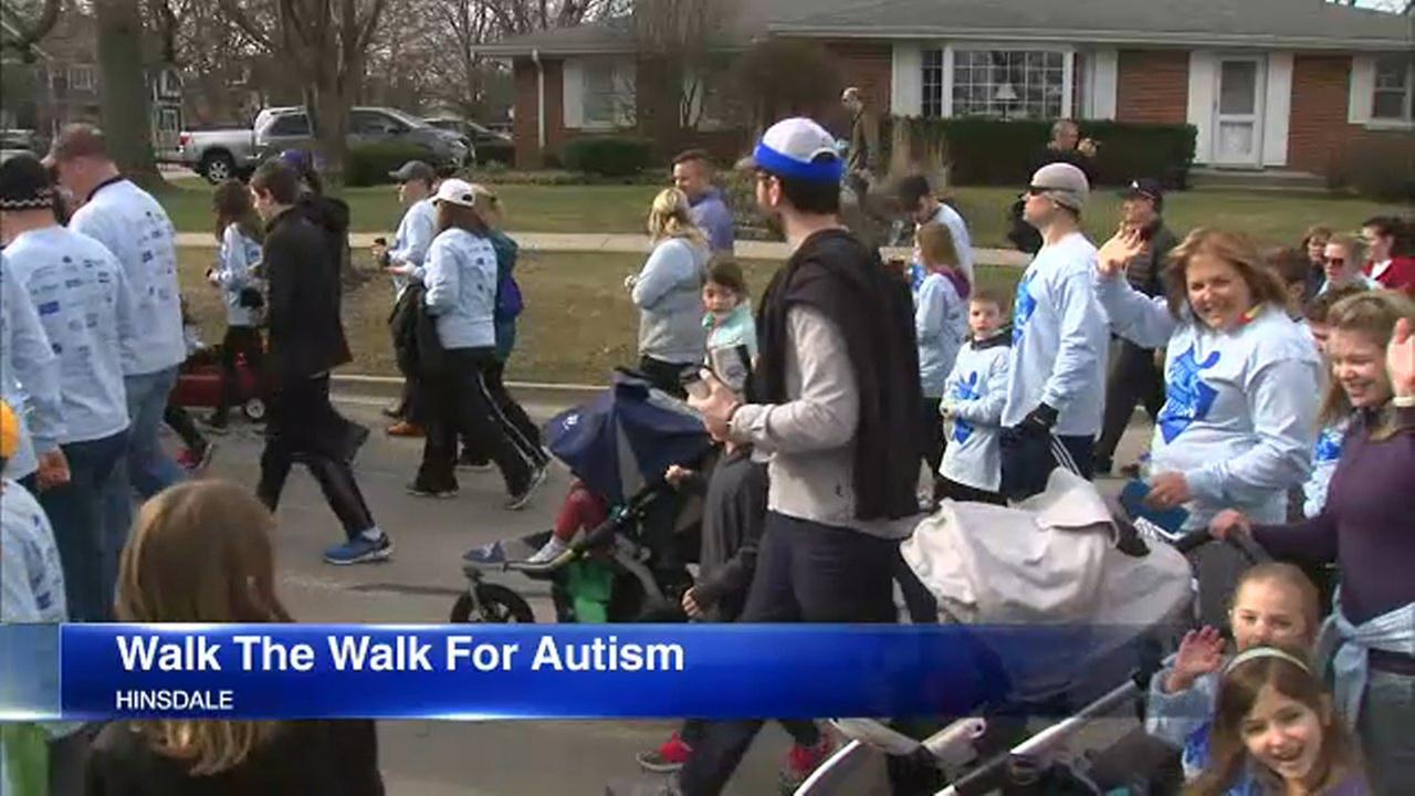 Walk the Walk for Autism was held in Hindsdale Sunday.