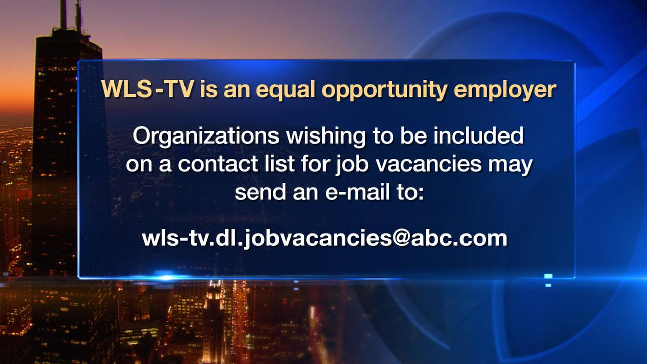 WLS-TV is an equal opportunity employer