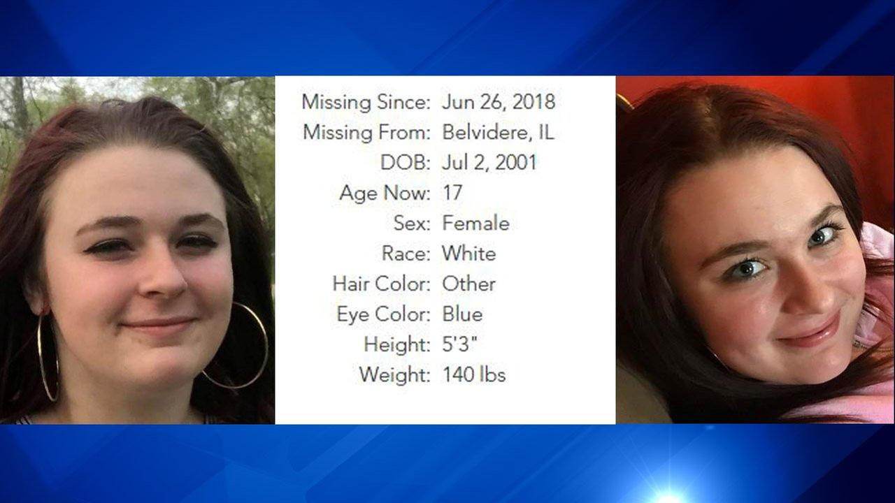 The National Center For Missing and Exploited Children provided this information on Hicks. Anyone with information is asked to call the Boone County Sheriffs Department at 815-544-9322.