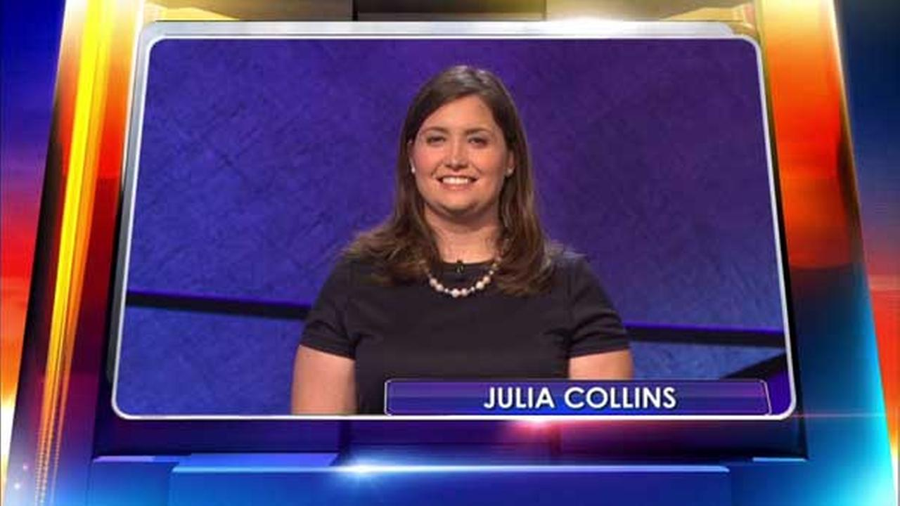 Jeopardy! champ from Wilmette, Julia Collins.