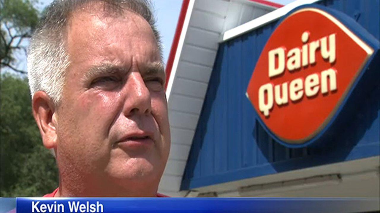 Owner Kevin Welsh stands in front of the reopened Homewood Dairy Queen.