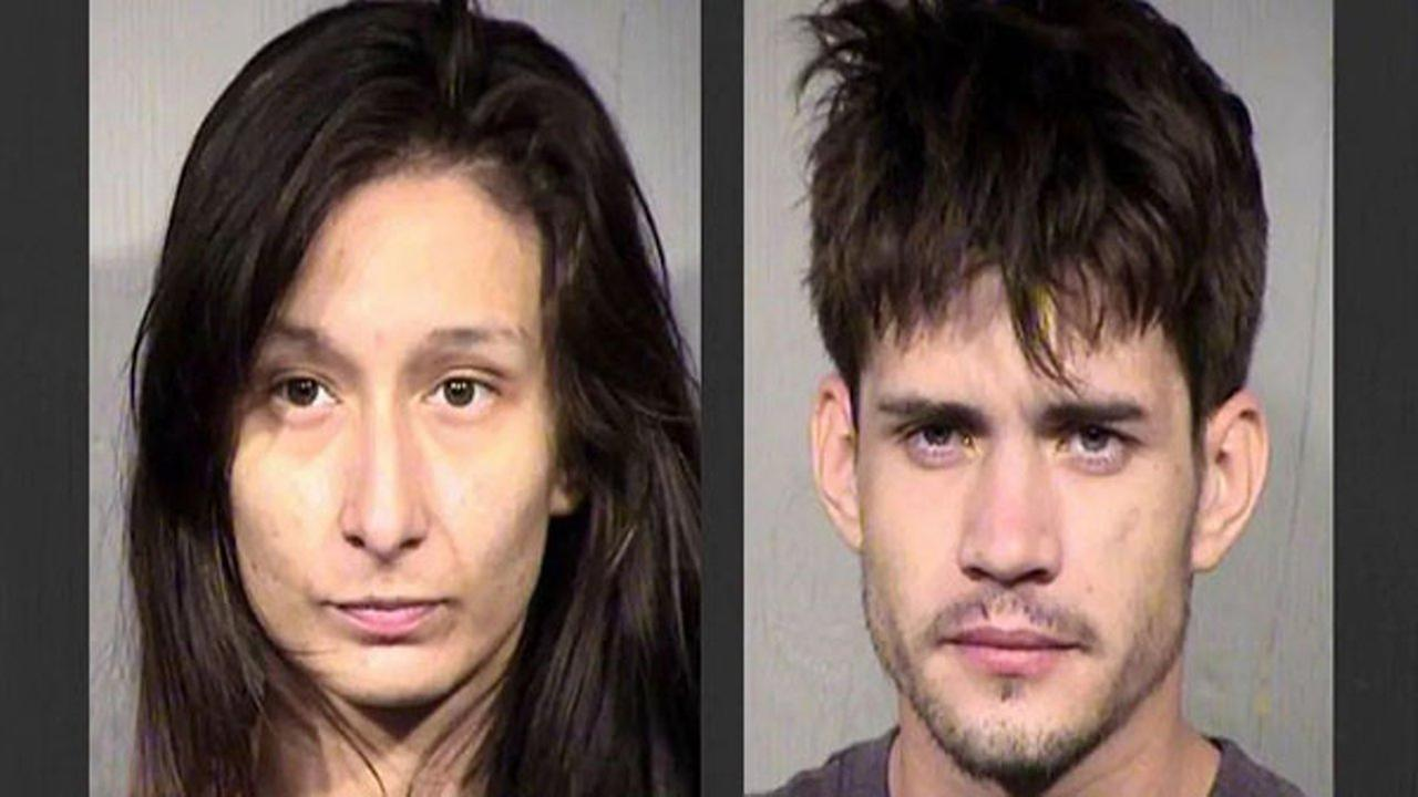 A mother and her boyfriend have been arrested after their toddler son ingested fentanyl, methamphetamine, amphetamine, Oxycodone and opiates.